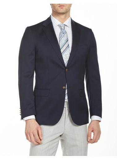 Bisse PCK19Y001 Regular Fit 6 Drop Platinum Blazer Ceket Lacivert